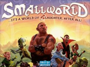 Small World board game box cover