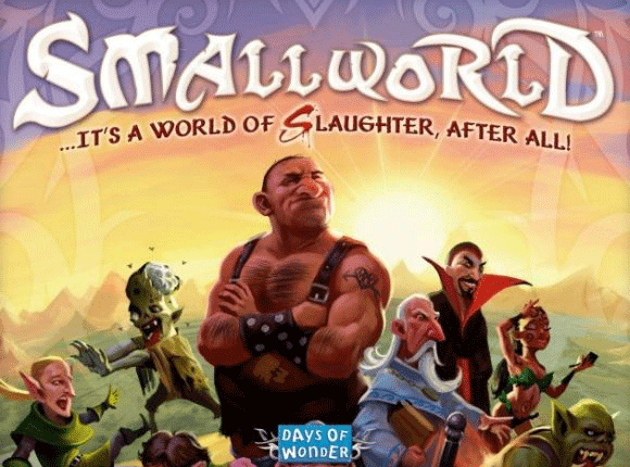 Small World board game box cover