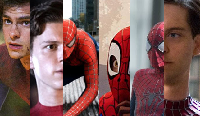 different spiderman actors
