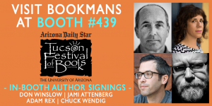 March 2020 Tucson Festival of Books Author Signings